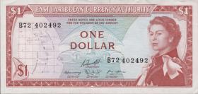 Ost Karibik / East Caribbean P.13f 1 Dollar (1965) (2)