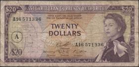 Ost Karibik / East Caribbean P.15h 20 $ (1965) (4)