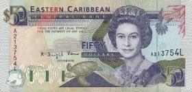 Ost Karibik / East Caribbean P.29l 50 Dollars (1993) (2)