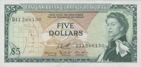 Ost Karibik / East Caribbean P.14h 5 Dollars (1965) (1)