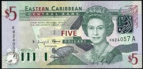 Ost Karibik / East Caribbean P.42Aa 5 Dollars (2003) (1)