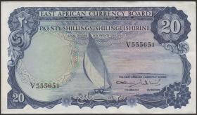 Ost Afrika / East Africa P.47 20 Shillings (1964) (2)