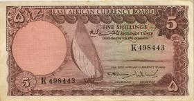 Ost Afrika / East Africa P.45 5 Shillings (1964) (3)