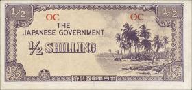 Ozeanien / Oceania P.01 1/2 Shilling (1942) (1)