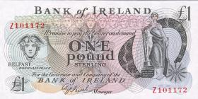 Nordirland / Northern Ireland P.065 1 Pound Sterling (1980)  (1)