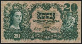 Österreich / Austria P.095 20 Schilling 1928 (3+)
