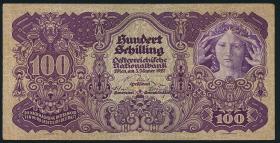 Österreich / Austria P.097 100 Schilling 1927 (3)
