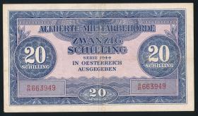 Österreich / Austria P.107 20 Schilling 1944 (3)