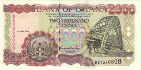 Ghana P.33e 2000 Cedis 2000 (1)