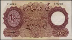 Pakistan P.14 100 Rupien (1953) (1)
