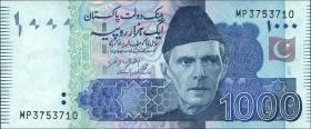 Pakistan P.neu 1000 Rupien 2017 (1)
