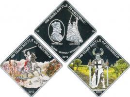 Palau 3 x 1 Dollar 2010 600 J. Schlacht bei Tannenberg