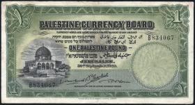 Palästina / Palestine P.07b 1 Pound 1929 (4) B834067
