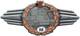 Klassifizierungsabzeichen Panzerfahrer M(eister)