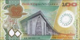 Papua-Neuguinea / Papua New Guinea P.33 100 Kina 2003-05