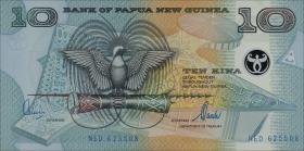 Papua-Neuguinea / Papua New Guinea P.26 10 Kina (2000) (1)