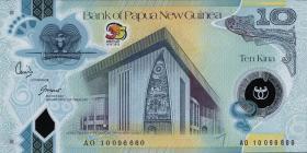 Papua-Neuguinea / Papua New Guinea P.40 10 Kina (2010)