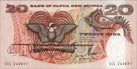 Papua-Neuguinea / Papua New Guinea P.10d 20 Kina o.J. (1)