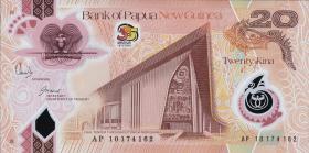 Papua-Neuguinea / Papua New Guinea P.41 20 Kina (2010)