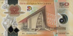 Papua-Neuguinea / Papua New Guinea P.42 50 Kina (2010)