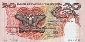Papua-Neuguinea / Papua New Guinea P.10a 20 Kina o.J. (1)