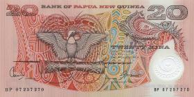 Papua-Neuguinea / Papua New Guinea P.31a 20 Kina (2007) (1)