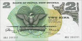Papua-Neuguinea / Papua New Guinea P.01 2 Kina (1975) (1)