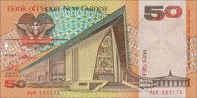 Papua-Neuguinea / Papua New Guinea P.11a 50 Kina (1989) (1)