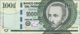Paraguay P.233e 100.000 Guaranies 2015 (1)