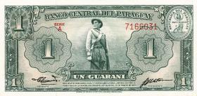 Paraguay P.185a 1 Guarani 1952 Serie A(1)