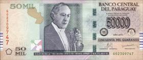 Paraguay P.236 50000 Guaranies 2013 (1)
