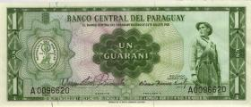 Paraguay P.192 1 Guaranies L. 1952 (1-)