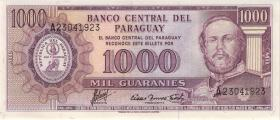 Paraguay P.207 1000 Guaranies (1982) (1)