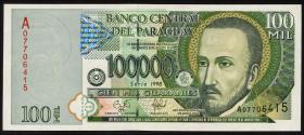 Paraguay P.219 100.000 Guaranies 1998 (1)