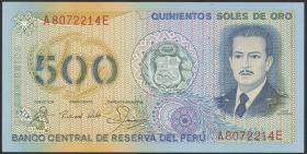 Peru P.125A 500 Soles de Oro 1982 (1)