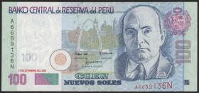 Peru P.178a 100 Nuevos Soles 2001 (1)