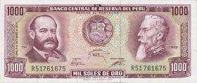 Peru P.111 1000 Soles de Oro 1975 (1)
