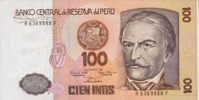 Peru P.132a 100 Intis 1.3.1986 (1)
