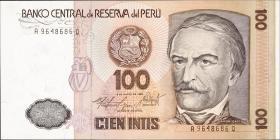 Peru P.132b 100 Intis 1986 (1)