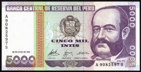 Peru P.137 5000 Intis 1988 (1)