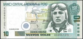 Peru P.157 10 Nuevos Soles 1995 (1)