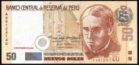 Peru P.177 50 Nuevos Soles 2001 (1)