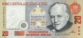 Peru P.158 20 Nuevos Soles 1994 (1)