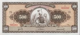 Peru P.087 500 Soles de Oro 1966-1968  (1)