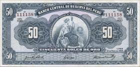 Peru P.078 50 Soles 1959 (1)