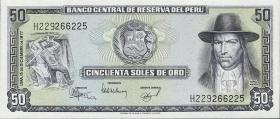 Peru P.113 50 Soles de Oro 1977 (1)