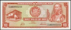 Peru P.093 10 Soles de Oro 1968 (1)