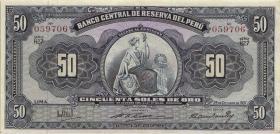 Peru P.078 50 Soles de Oro 1959 (2)