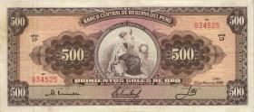 Peru P.087 500 Soles de Oro 1962  (3)