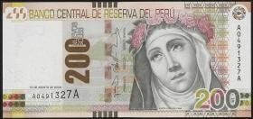 Peru P.186 200 Nuevos Soles 2009 (1)